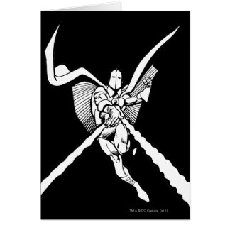 Dr. Fate Magic Outline Greeting Card