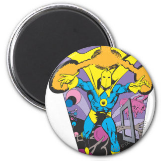 Dr. Fate Manipulates Magic 2 Inch Round Magnet
