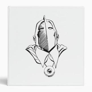 Dr. Fate Mask Outline Binder