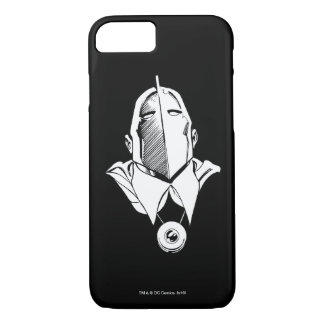Dr. Fate Mask Outline iPhone 8/7 Case