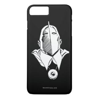 Dr. Fate Mask Outline iPhone 8 Plus/7 Plus Case