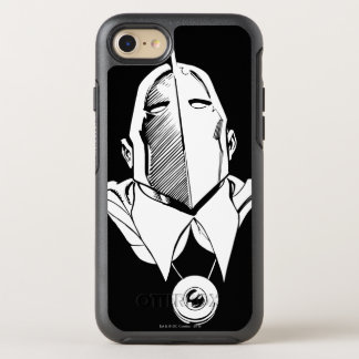 Dr. Fate Mask Outline OtterBox Symmetry iPhone 8/7 Case