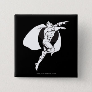 Dr. Fate Soaring Outline Pinback Button