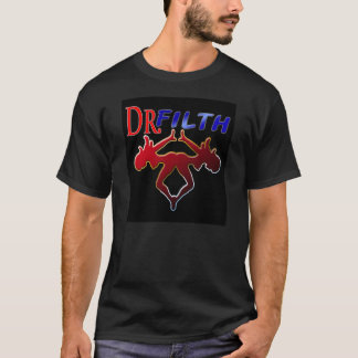 Dr. Filth Large Black T-Shirt