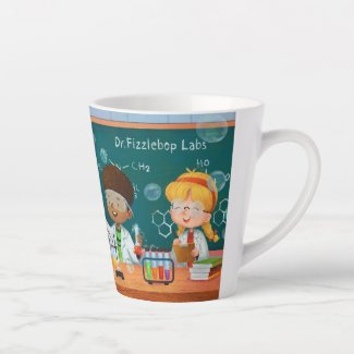 Dr. Fizzlebop Coffee Latte Mug