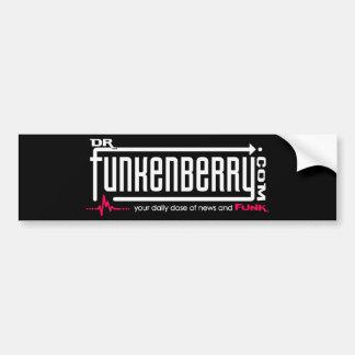 Dr. Funkenberry Bumper Sticker Car Bumper Sticker