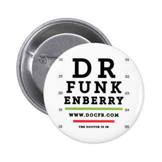 Dr. Funkenberry Round Button