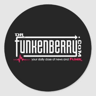 Dr. Funkenberry Round Sticker
