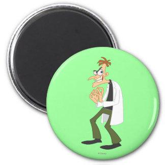 Dr. Heinz Doofenshmirtz 1 2 Inch Round Magnet