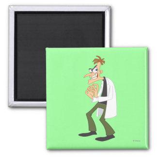 Dr. Heinz Doofenshmirtz 1 2 Inch Square Magnet
