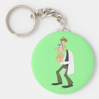 Dr. Heinz Doofenshmirtz 1 Basic Round Button Keychain