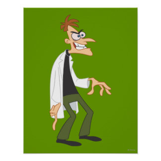 Dr. Heinz Doofenshmirtz 2 Poster