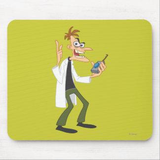Dr. Heinz Doofenshmirtz 3 Mouse Pad