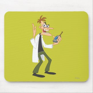 Dr. Heinz Doofenshmirtz 3 Mousepads