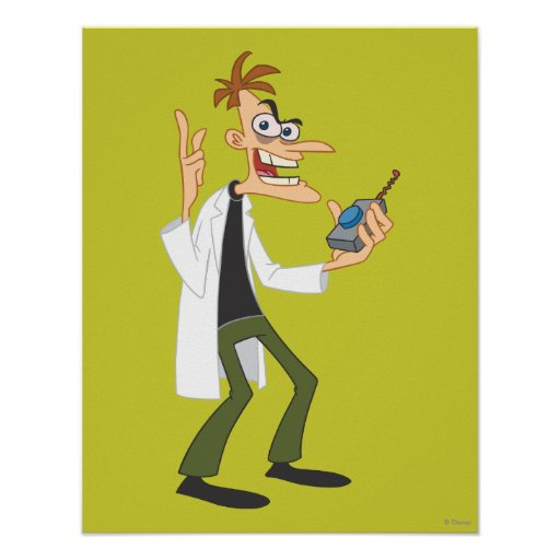 Dr. Heinz Doofenshmirtz 3 Print