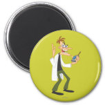 Dr. Heinz Doofenshmirtz 3 Refrigerator Magnet