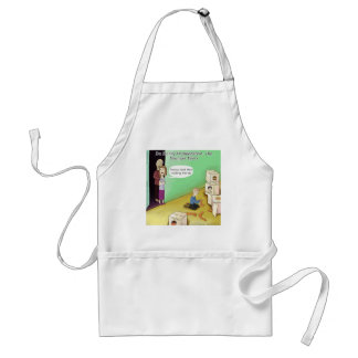 Dr. Henry Frankstien Youthful Years Adult Apron