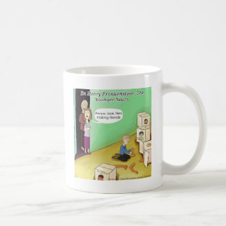 Dr. Henry Frankstien Youthful Years Coffee Mug