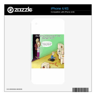 Dr. Henry Frankstien Youthful Years iPhone 4 Skin
