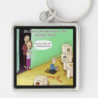 Dr. Henry Frankstien Youthful Years Keychain