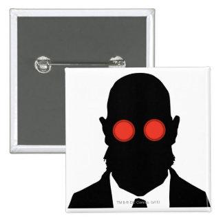 Dr. Hugo Strange Silo Pinback Button