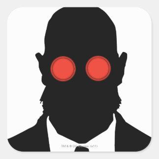 Dr. Hugo Strange Silo Square Stickers