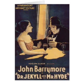Dr. Jekyll and Mr. Hyde Greeting Cards