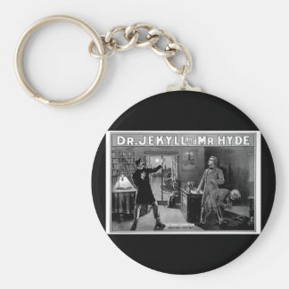 Dr. Jekyll and Mr. Hyde Keychain