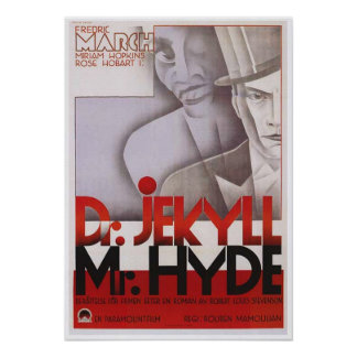 Dr Jekyll And Mr Hyde Movie Poster