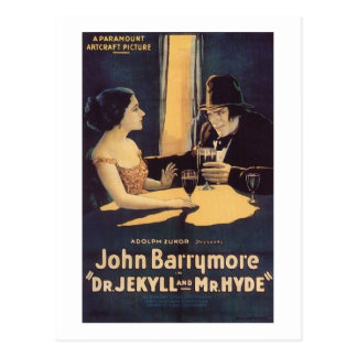 Dr. Jekyll and Mr. Hyde Postcard