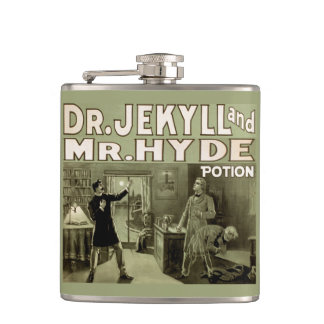 Dr. Jekyll and Mr. Hyde Potion Hip Flask
