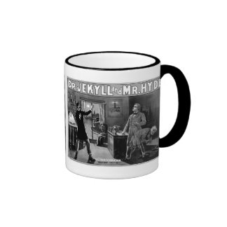 Dr. Jekyll and Mr. Hyde Ringer Coffee Mug