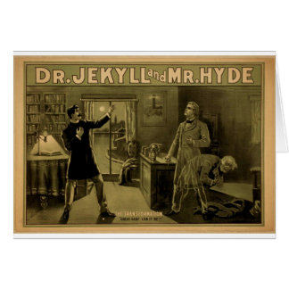 Dr.Jekyll and Mr.Hyde, 'The Transformation' Cards