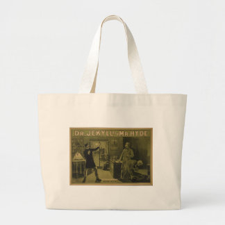 Dr Jekyll and Mr Hyde Theatrical Poster 1880 Canvas Bag