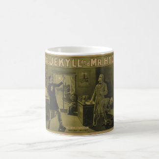 Dr. Jekyll and Mr. Hyde Theatrical Poster 1880 Classic White Coffee Mug
