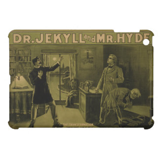 Dr. Jekyll and Mr. Hyde Theatrical Poster 1880 iPad Mini Covers