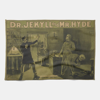 Dr. Jekyll and Mr. Hyde Theatrical Poster 1880 Towels