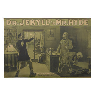 Dr. Jekyll and Mr. Hyde Theatrical Poster 1880 Placemats