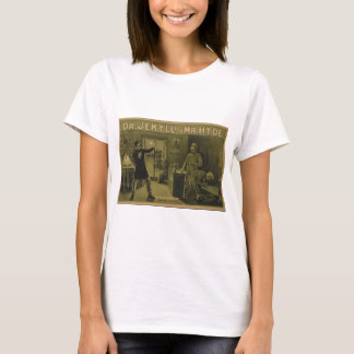 Dr. Jekyll and Mr. Hyde Theatrical Poster 1880 T-Shirt