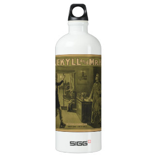 Dr. Jekyll and Mr. Hyde Theatrical Poster 1880 Water Bottle