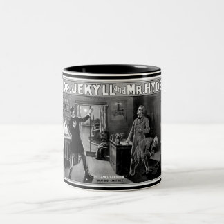 Dr. Jekyll and Mr. Hyde Two-Tone Coffee Mug