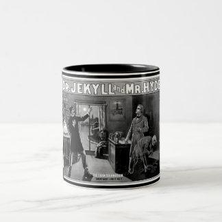 Dr. Jekyll and Mr. Hyde Two-Tone Coffee Mug