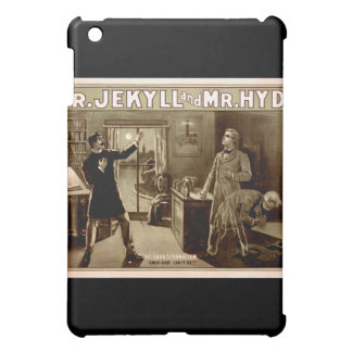 Dr. Jekyll and Mr. Hyde Vintage Illustration 1880s iPad Mini Cover