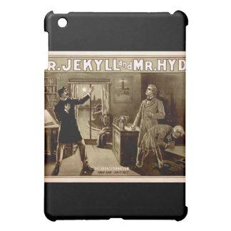 Dr. Jekyll and Mr. Hyde Vintage Illustration 1880s iPad Mini Covers