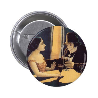Dr. Jekyll and Mr. Hyde Vintage Movie Poster Button