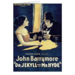 """Dr. Jekyll & Mr. Hyde"" Card"
