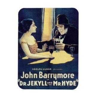 """Dr. Jekyll & Mr. Hyde"" Magnet"