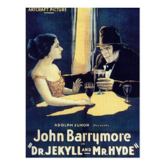 """Dr. Jekyll & Mr. Hyde"" Postcard"