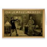 Dr.Jekyll y Mr.Hyde, 'el Transformation Felicitaciones