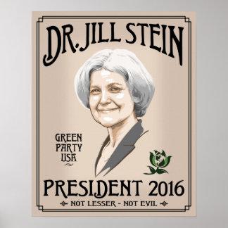 Dr. Jill Stein Poster
